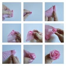 crepe paper flowers crepe paper flower and ruffle letters val event gal