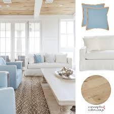 coastal livingroom a and blue color palette for coastal living rooms concepts and