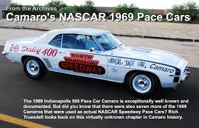 69 camaro pace car traveler magazine 2013 05 1969 nascar camaro pace car page 1