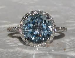 aquamarine diamond ring best 25 aquamarine engagement rings ideas on