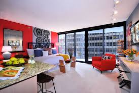 apartment interior decorating ideas cool funky apartment interior design ideas with extensive glass