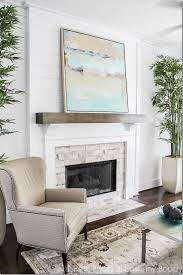 Fireplace Mantel Decor Ideas by Best 25 Wood Mantle Ideas On Pinterest Rustic Mantle Rustic