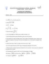 worksheet estimating square roots worksheet luizah worksheet and