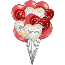 send balloons send this beautifull balloons bauquet of i you and wish you