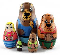 masha and three bears matryoshka nesting dolls for sale buy