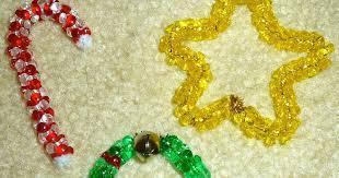 to 2 posh lil divas easy bead ornaments for