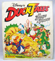 ducktales tales panini stickers collector book