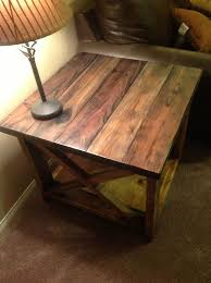 Building A Wooden Desk by Best 25 End Table Plans Ideas On Pinterest Coffee And End