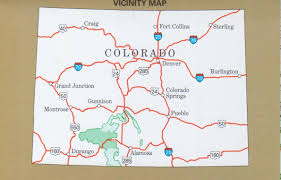 Alamosa Colorado Map by Rio Grande National Forest Divide District