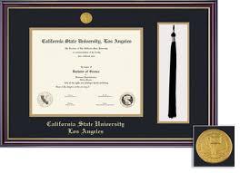 graduation frames with tassel holder cal state la bookstore framing success