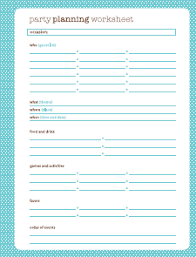 printable party planner checklist birthday party planning worksheet switchconf