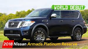nissan armada 2017 dubai 2018 nissan armada platinum reserve official debut youtube
