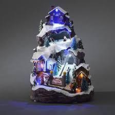 Animated Christmas Ornaments Uk by Konstsmide Led Animated Moving Christmas Scene Mains Powered