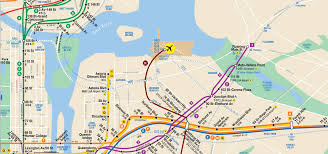 A Train Map Kosciusko Bridge Train Subway Map Version Copy 3