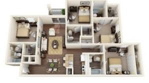 four bedroom townhomes apartments under 800 in orlando fl apartments intended for 4