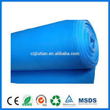 Laminate Floor Padding Underlayment Soundproof Green Ixpe Underlay With Pe Film For Laminate Flooring