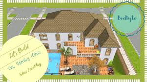 Family Home Floor Plan by Let U0027s Build A Family Home 1 Sims Freeplay Sims Freeplay