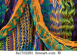 free art print of mexican blanket detail of a mexican blanket for