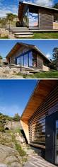 cabin design lund slaatto architects have designed a cedar clad contemporary