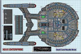 house plan uss enterprise deck fantastic colored schematic of