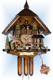 adolf herr black forest saw mill cuckoo clock 22 bavarian