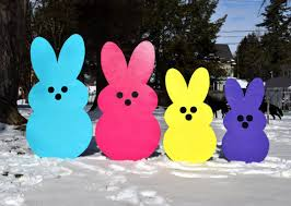 peeps decorations easter peeps yard outdoor easter decoration