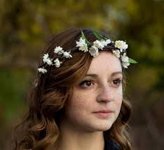 bridal accessories australia ivory bridal flower crown woodland headwreath rustic chic wedding