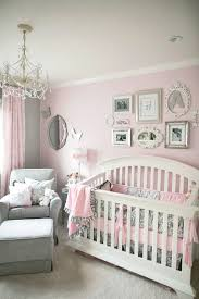 girls bedroom beautiful and cheerful pink baby room ideas