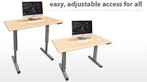motorized sit stand desk smartdesks stand up desks and tables adjust to sit or stand