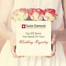 top 10 wedding registry top 10 items you need on your wedding registry