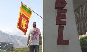 Sri Lanka Flag Lion Sri Lanka Flag In Rebel U0026 Lion Nation T Shirt Gta5 Mods Com