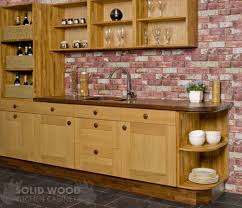 solid wood kitchen base cabinets in this image our solid oak base cabinets are accompanied by