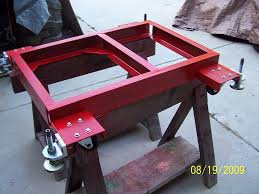 table saw mobile base mother of table saw mobile bases v 2 woodworking talk