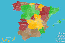 Detailed Map Of Spain by Map Spain
