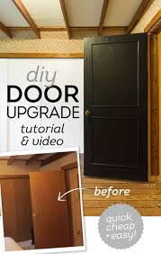 how to update your house diy easy door upgrade tutorial step guide doors and house
