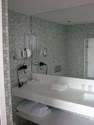 bathroom astonishing divine bathroom design with wide mosaic wall