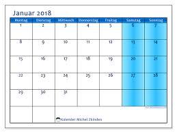 Kalender 2018 Für österreich Kalender Zum Ausdrucken Januar 2018 österreich