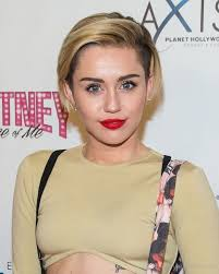 whats the name of the haircut miley cyrus usto have miley cyrus