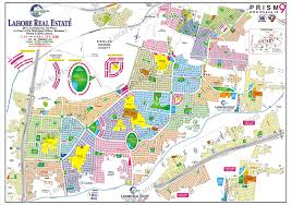 g map prism 9 dha lahore phase 9 proper map