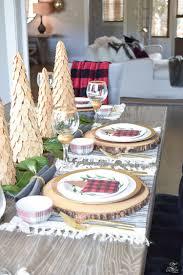 Christmas Table Settings Styled Set Christmas Tour Zdesign At Home