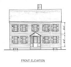 Simple Home Plans Free Colonial House Plans Westport 10 155 Associated Designs Tearing