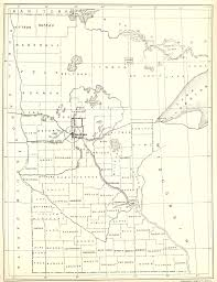 Mn Counties Map County Origin