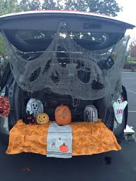 Halloween Trunk Decorations October 2014 Here I Am