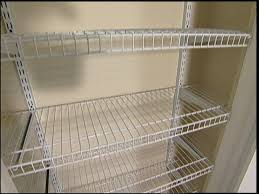 Metal Wire Shelving by Metal Wire Closet Shelving