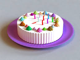 happy birthday cake 3d model 3ds max files free download