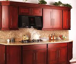 cherry kitchen ideas small cherry kitchen cabinets designs ideas with countertops