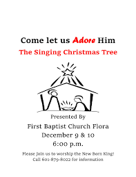 singing christmas tree u2013 fbc flora