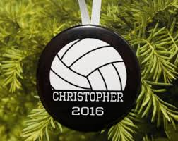 volleyball christmas ornament athletic ornament gift for