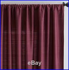 Ebay Pottery Barn Curtains Gorgeous Pottery Barn Silk Dupioni Curtains Madeira Burgundy Set