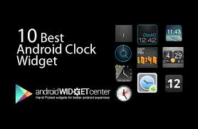 best clock widget for android 10 best android clock widgets april 2013 androidwidgetcenter